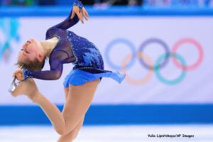 Yulia Lipnitskaya:AP Images