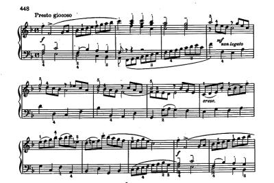 Bach Italian Concerto mvmt. 3